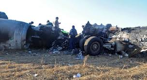 Kazakhstan : le crash d'un avion fait 20 morts