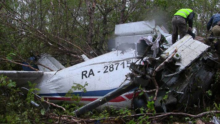 Crash d'un An-28 en Russie