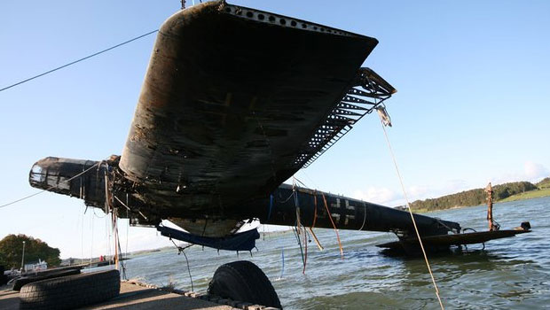 un Heinkel He 115 sorti des eaux