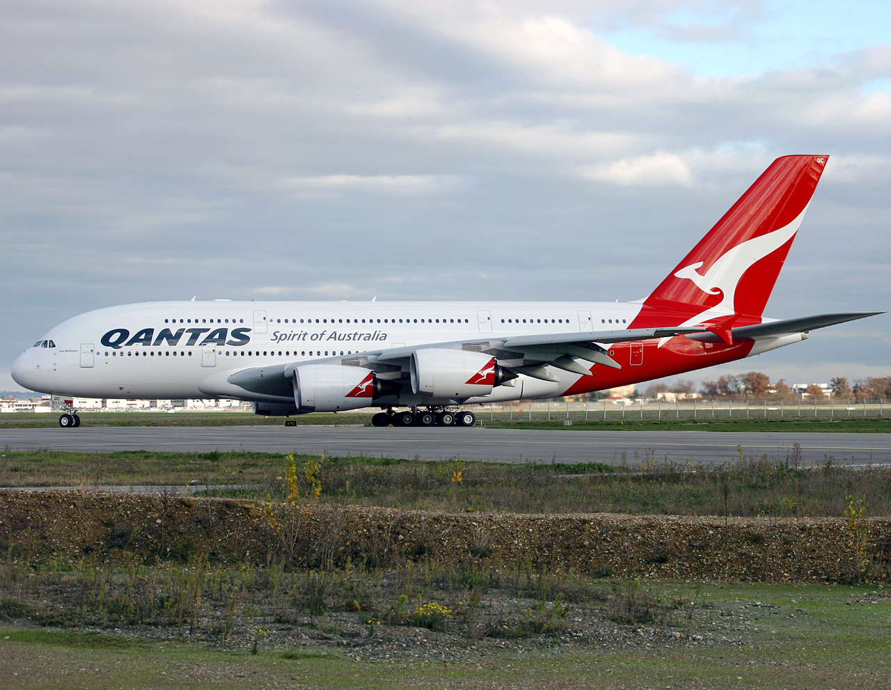 La compagnie Qantas Airways